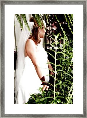 Bride Framed Print by Brett Kurtz