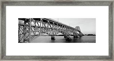 Bridge Across A River, South Grand Framed Print by Panoramic Images