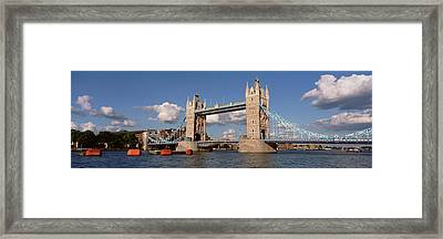 Bridge Over A River, Tower Bridge Framed Print by Panoramic Images