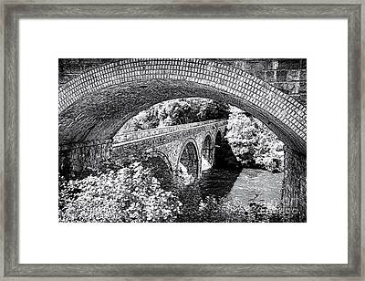 Bridge Under A Bridge Framed Print