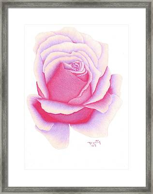 Bright Passion Framed Print by Dusty Reed