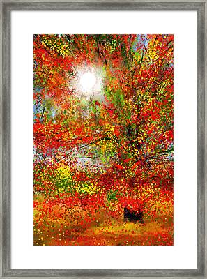 Brighter Day Framed Print by Lourry Legarde