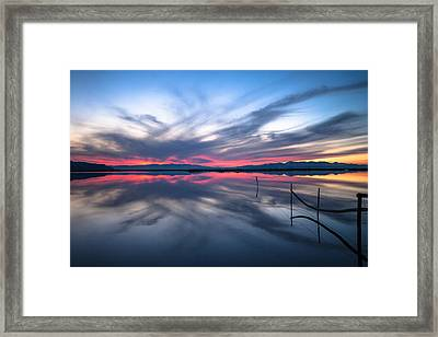 Brighter Horizons Framed Print