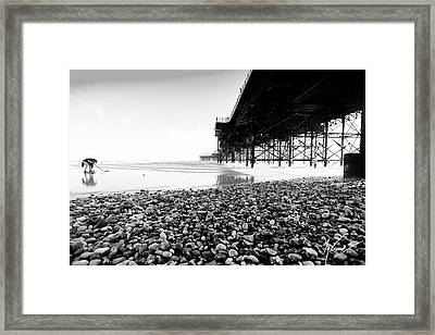 Brighton's Treasure Framed Print by Max CALLENDER