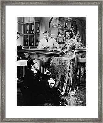 Bringing Up Baby, 1938 Framed Print