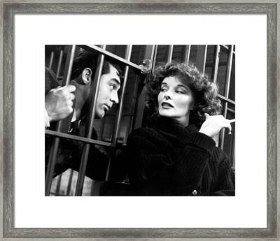 Bringing Up Baby  Framed Print by Silver Screen