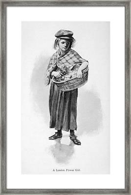 Britain Child Labor, 1905 Framed Print by Granger