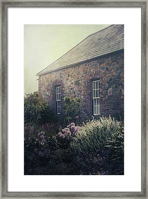British Cottage Framed Print by Joana Kruse