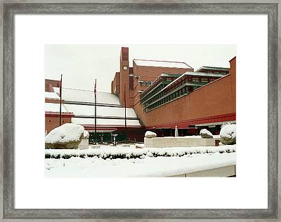 British Library Framed Print by British Library