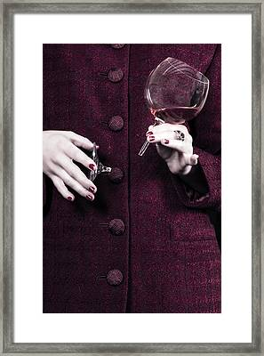 Broken Glass Framed Print by Joana Kruse