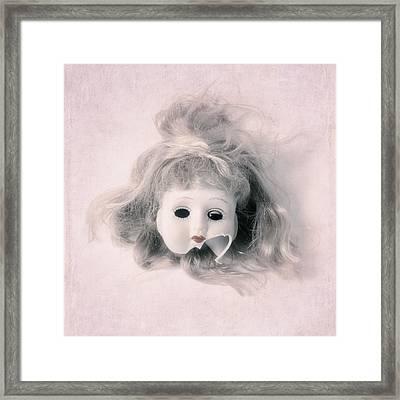 Broken Head Framed Print by Joana Kruse