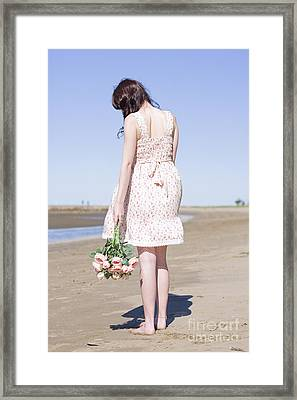 Broken Hearted Girl Framed Print