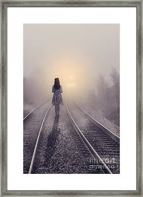 Broken Love Framed Print by Svetlana Sewell