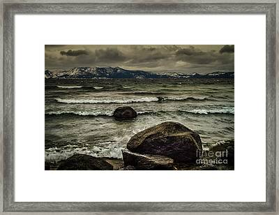 Broken Framed Print by Mitch Shindelbower
