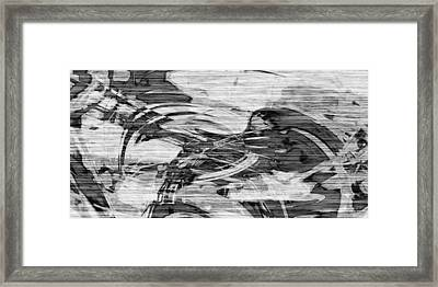 Broken Remembrance Of Rustic Ruins Framed Print by Kyle Wood