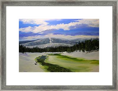 Bromley View Framed Print by Ken Ahlering