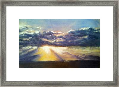 Broomfield Sky Framed Print