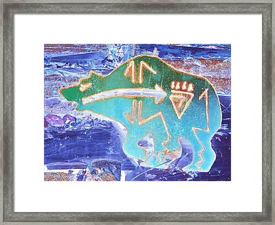 Brother Bear Framed Print by Larry Campbell