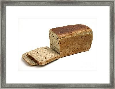 Brown Bread Framed Print by Victor de Schwanberg