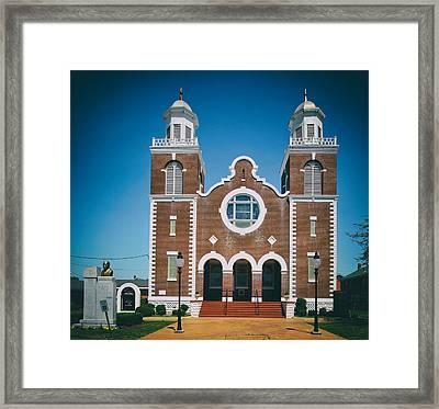 Brown Chapel In Selma Alabama Framed Print