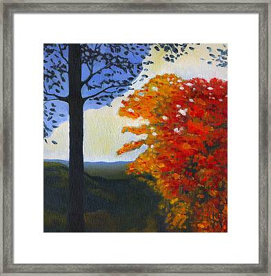 Brown County Indiana Framed Print by Katherine Miller