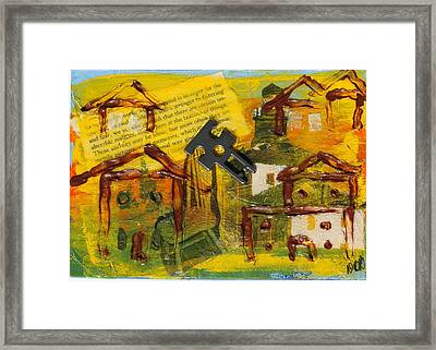 Brown House No. 2 Framed Print