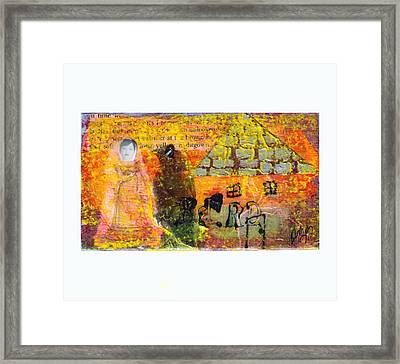 Brown House No 4 Framed Print