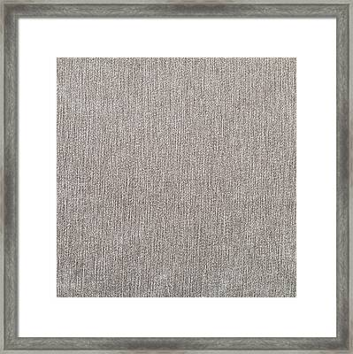 Brown Material Framed Print by Tom Gowanlock