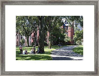 Brown University Framed Print by John Greim
