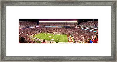 Bryant Denny Stadium Framed Print by Georgia Fowler