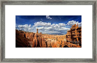 Bryce Canyon Panorama Framed Print