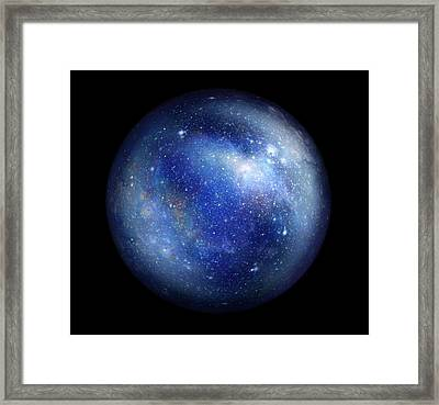 Bubble Universe Framed Print