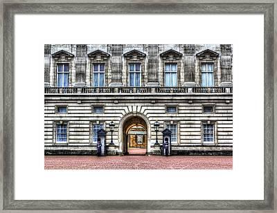 Buckingham Palace London Framed Print by David Pyatt
