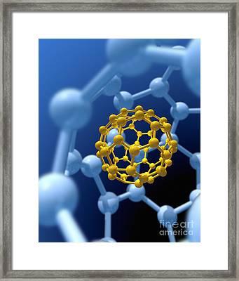 Buckyball Technology Framed Print