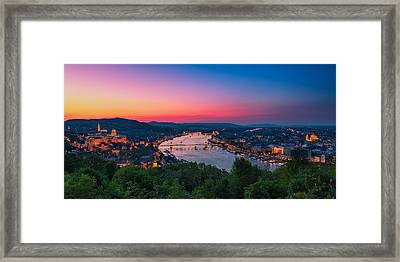 Budapest 03 Framed Print by Tom Uhlenberg