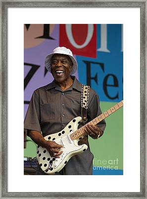 Buddy Guy Smiling Framed Print