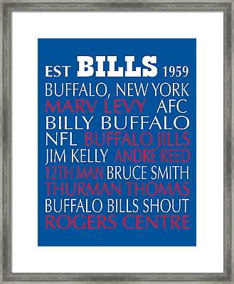 Buffalo Bills Framed Print