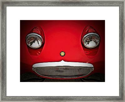 Bug Eyed Sprite Framed Print