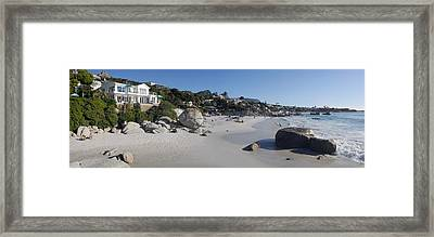 Buildings At The Waterfront, Clifton Framed Print by Panoramic Images