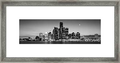 Buildings At The Waterfront, River Framed Print by Panoramic Images