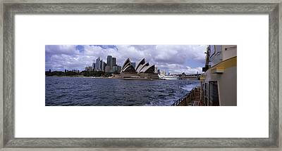 Buildings At The Waterfront, Sydney Framed Print