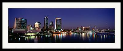 St. Johns River Framed Prints