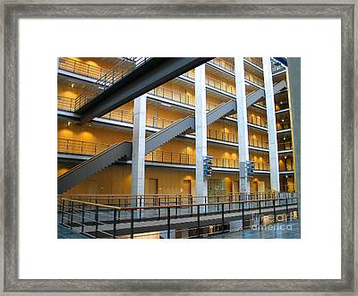 Bundestag Building Framed Print by Art Photography