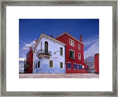 Burano 04 Framed Print by Giorgio Darrigo