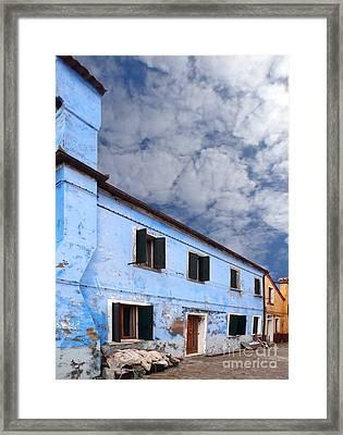 Burano 06 Framed Print by Giorgio Darrigo