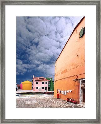 Burano 07 Framed Print by Giorgio Darrigo