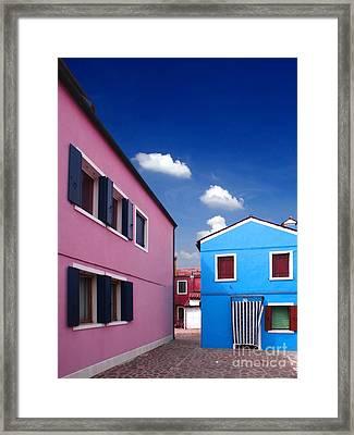 Burano 08 Framed Print