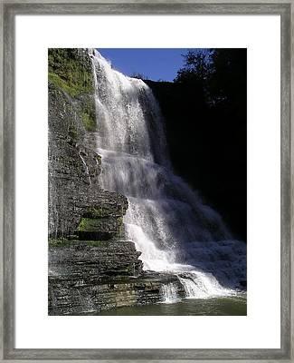Burgess Falls Framed Print
