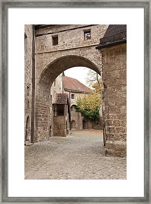 Burghausen Castle Burghausen, Germany Framed Print by Michael Defreitas