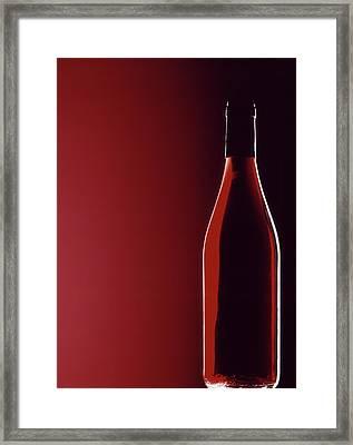 Burgundy Framed Print by Steven Huszar